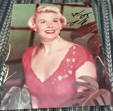 Doris Day In Red Autograph SIGNED 8x10 PHOTO GA COA