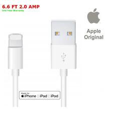 Original Cargador De Iphone Apple MFI certificado 1 Pack 2.0A 6.6FT - 1 Año De Garantía