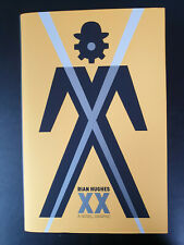 Rian Hughes: XX. A Novel, Graphic - Signed 1st UK Ed w Pin and Cards - LIKE NEW!