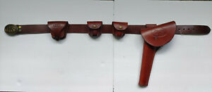 Civil War Belt, Holster, Buckle, Cap Boxs, Pouch - USA Made Triple K - Leather