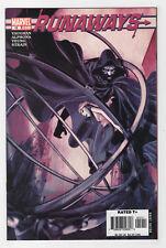 Runaways #12 (Mar 2006, Marvel) Avengers Cloak Brian K. Vaughan Adrian Alphona p