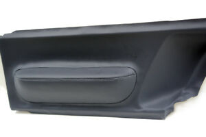 Door Panel Insert Cards Leather Synthetic for Volkswagen Beetle 98-10 Gray