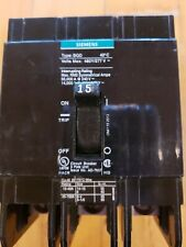 Bqd315 Siemens 15 Amp 480V 3 Pole Bolt On Circuit Breaker Type Bqd