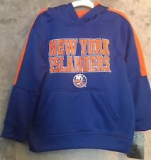 NWT New York Islanders NHL Hoodie Hooded Sweatshirt Youth Size XS 4-5