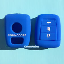 DEEP BLUE SILICONE KEY COVER SUITS HOLDEN REMOTE MALOO SS V8 SV6 VE COMMODORE