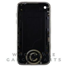 Door Chrome Bezel for Apple iPhone 3GS Black Rear Back Panel Housing Battery