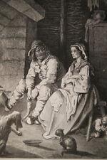 GUSTAVE DORE PETIT POUCET FAMINE GRAVURE SUR BOIS 1862 PAPIER MARAIS R3120 PRINT