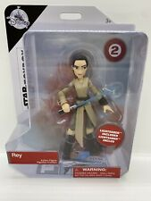 STAR WARS TOYBOX Rey Figure With Lightsaber #2 Disney Store NEW!