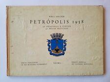 Petropolis 1958 by Wim L. Van Dijk, 40 Brush Sketches, Brazil, SIGNED