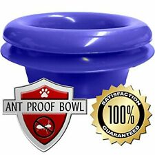 Ant Proof Bowl Dog Cat Pet Feeder Food Water Ant Free Dish ~ The Mote