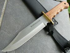 "Genuine Huge 14.25"" Winchester Fixed Blade Knife Large Bowie Camping Knife 1206"