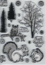 Dawn Bibby - Magical Christmas Scene A5 Clear Stamp Set - DBS017
