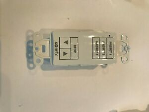 Somfy SDN DecoFlex 6 Button Digital Keypad - White 1909 Rev C 1811252