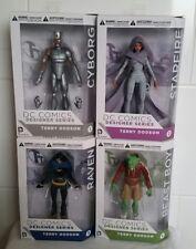 DC COMICS: Essentials Cyborg, Starfire, Raven & Beast Boy Action Figures