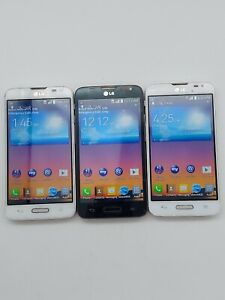 Lot of 3 LG Optimus L70 L Series 3 MS323 MetroPCS 4GB *Check IMEI*