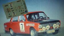 DECAL CALCA 1/43 SEAT 124  J. BABLER CRIT. LUIS DE BAVIERA 1972 (SEAT DEBUT)