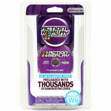 DATEL ACTION REPLAY CHEATS CODES SYSTEM FOR GAMECUBE & NINTENDO WII *EU ONLY*