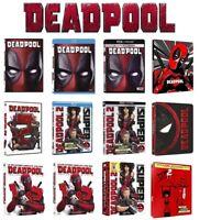 DEADPOOL Home video Collection (DVD, BLU-RAY, BLU-RAY 4K UHD, STEELBOOK) MARVEL
