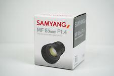 New Samyang (Rokinon) 85mm f/1.4 Lens UMC Manual Focus - Nikon Z Mount SYZ85-N