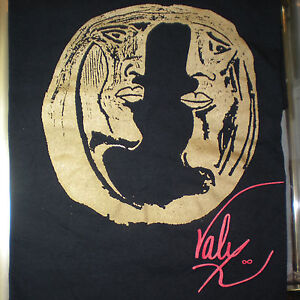 Original Independent Artist Designer Philippe Valy Face To Face T-Shirt S M L XL