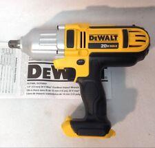 "Dewalt DCF889B 20V MAX Li-Ion 1/2"" High-Torque Impact Wrench w/ Detent Pin Anvil"