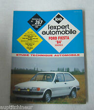 Revue technique L'EXPERT AUTOMOBILE n° 267 1989 Ford Fiesta 84 essence