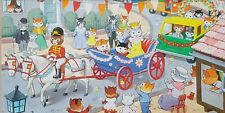 Fab Original Illustration for a Book? Queen cat Gouache Ideal for Childs room