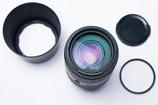 Sigma 70-300mm f/4-5.6 DL Macro Super Lens for Minolta Caps & Filter (#1793)