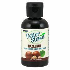 Mieux Stevia Noisette Liquide 59ml par Now Foods