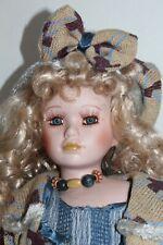 Debbie Visconti Porcelain Doll Great Outfit!