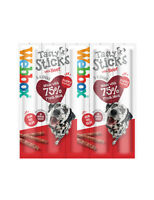 Webbox Dog Doggy Delight Treat Food BEEF Sticks Small Breed (6 Sticks Per Pack)