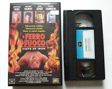 A ferro e fuoco VHS Fox Video (1995) Michael Worth, Sam Jones