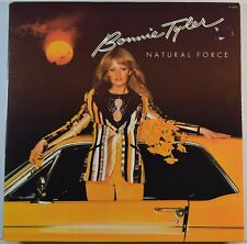Bonnie Tyler Natural Force 33T LP france french pressing PL 25152