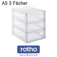 Rotho Schubladenbox A5 3 Schübe ...