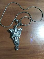 Lord of The Rings Evenstar Pendant of Arwen Necklace Lotr