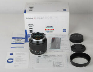 New Carl Zeiss Distagon T* 28mm f/2 ZE Lens For Canon EOS 5D III 1Dx 1DS W/Hood