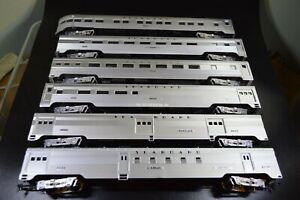 HO Seaboard Air Line SAL Lightweight 6 car train set already built