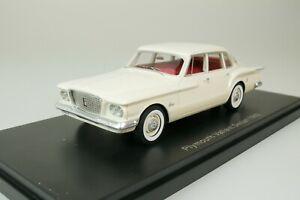Plymouth Valiant sedan 1960 White 1/43 Neo 44015 New
