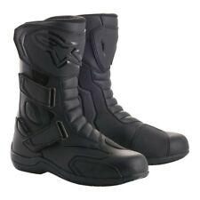 Alpinestars Radon Drystar Waterproof Black Motorbike Street/Touring Boots