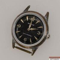 Vintage Benrus Swiss 17j Wrist Watch Model BH 25 For Shock Obsorber Parts Repair