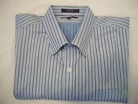 Alan Flusser Mens Casual Dress Long Sleeve Shirt - Size XL