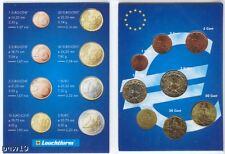 France 2001 - Set of 8 Euro Coins (UNC) **RARE**