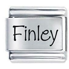FINLEY Nome - Daisy Charm da JSC Fits Classic Size Italian Braccialetto Ciondoli