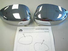 2012-2017 FIAT 500/500C Chrome Side Mirror Covers OEM 82212366