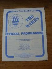 1975/1976 Bourne Town v Peterborough United [Friendly] . No obvious faults, unle