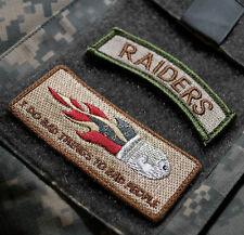 KANDAHAR WHACKER JSOC USMC KILLER ELIET FORCE RECON SET: Flying Bullet + RAIDERS