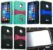 BUILT IN SCREEN PROTECTOR Faceplate Phone Case For Nokia Lumia 435