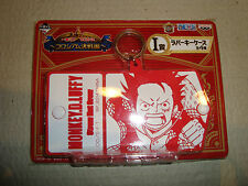 ONE PIECE ICHIBAN KUJI COLOSSEUM RUBBER KEYCHAIN MONKEY.D.LUFFY BANPRESTO