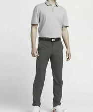 $100 Nike Mens Golf Modern Tech Woven Pants Dark Grey/Wolf Grey 725682-021 36x32