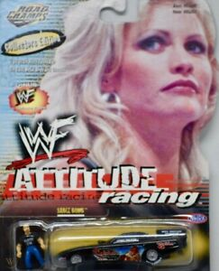 """1999 WWE/WWF ROAD CHAMPS 1/64th scale """"DIVA SABLE"""" ATTITUDE RACING [MOC]"""